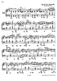 Mazurkas, Op. posth.67: Nr.1 in G-Dur by Frédéric Chopin