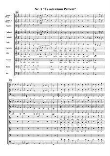 Te Deum, H.146: No.3 Te aeternum Patrem by Marc-Antoine Charpentier