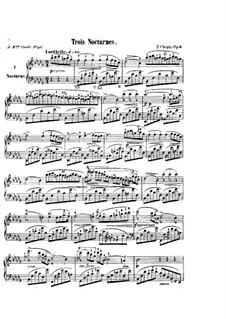Nocturnen (Sammlung): Nr.1-19 by Frédéric Chopin