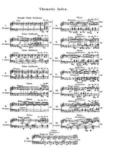 Ausgewählte Walzer: Nr.1-15 by Frédéric Chopin