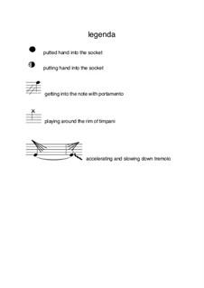 αιρετικος for harp, french horn and timpani: αιρετικος for harp, french horn and timpani by Hratschja Jessajan