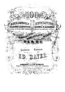 Cent récréations agréables et instructives: No.76-100 by Eduard Bayer