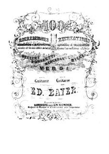 Cent récréations agréables et instructives: No.51-75 by Eduard Bayer