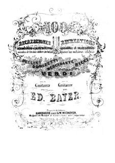 Cent récréations agréables et instructives: No.26-50 by Eduard Bayer