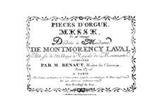 Messe in c-Moll für Orgel: Messe in c-Moll für Orgel by Josse-François-Joseph Benaut