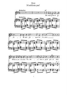 Ausgewählte Lieder: Buch I by Georges Bizet