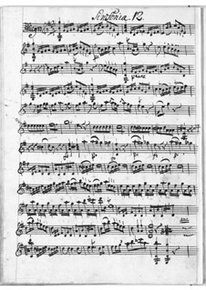Sinfonie in G-Dur: Sinfonie in G-Dur by Christian Cannabich