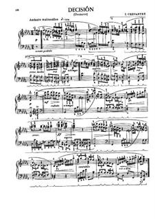 Sieben Tänze für Klavier: Sieben Tänze für Klavier by Ignacio Cervantes