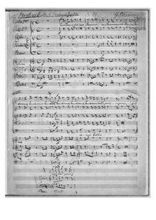 Jephte: Fragmente by Giacomo Carissimi