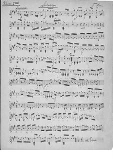 Drei kleine Duette für zwei Gitarren, Op.146: Duett Nr.1 – Stimmen by Ferdinando Carulli