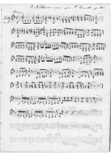 Drei Konzertnocturnen für zwei Gitarren, Op.143: Vollsammlung by Ferdinando Carulli