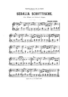 Sedalia Schottische for Piano (or Cabinet Organ): Sedalia Schottische for Piano (or Cabinet Organ) by Charles Kinkel