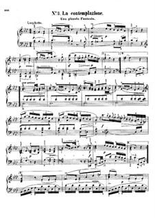 Bagatellen, Op.107: No.3 La contemplazione by Johann Nepomuk Hummel