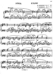 Etüden, Op.8: Nr.8 in fis-Moll by Viktor Stepanovych Kosenko