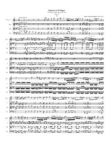 Quartett für Klarinette und Streicher in D-Dur, Op.82: Teil II by Franz Krommer