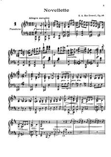 Zwölf virtuose Etüden, Op.46: Etüden Nr.1-6 by Edward MacDowell