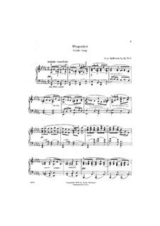 Vier Stücke, Op.24: Nr.3 Wiegenlied by Edward MacDowell