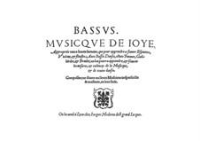 Musicque de Joye: Bassstimme by Jacques Moderne