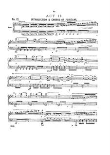 Haddon Hall: Akt II by Arthur Sullivan
