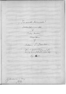Foraaret kommer, Op.33: Für Orchester by Johan Svendsen