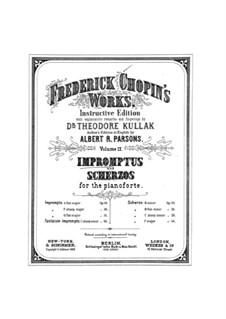 Impromptus und Scherzos (Sammlung): Impromptus und Scherzos (Sammlung) by Frédéric Chopin