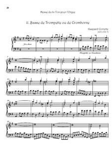 Messe: No.11 Basse de Trompette ou de Cromhorne by Gaspard Corrette