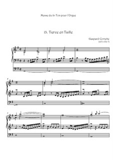 Messe: No.13 Tierce en Taille by Gaspard Corrette