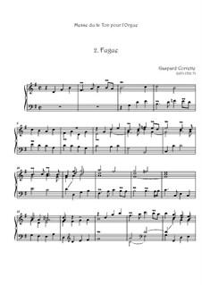 Messe: Nr.2 Fuge by Gaspard Corrette
