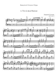 Messe: No.4 Trio à deux Dessus by Gaspard Corrette