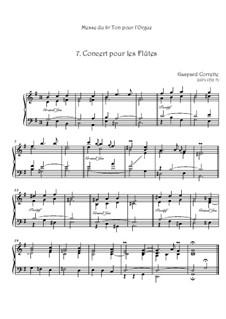 Messe: No.7 Concert pour les Flûtes by Gaspard Corrette
