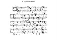 Ungarischer Marsch: Ungarischer Marsch by Friedrich Nietzsche