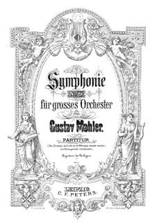 Sinfonie Nr.5 in cis-Moll: Partitur by Gustav Mahler