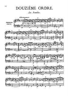 Douzième ordre: Vollsammlung by François Couperin