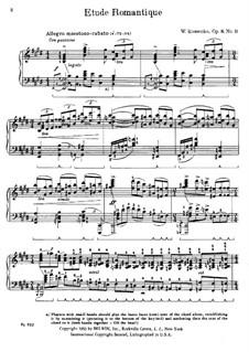 Etüden, Op.8: Nr.11 in E-Dur by Viktor Stepanovych Kosenko