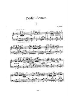Sonate für Cembalo in F-Dur, Illy No.28: Sonate für Cembalo in F-Dur by Baldassare Galuppi