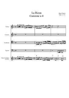 La Rizza, Op.2 No.14: La Rizza by Biagio Marini