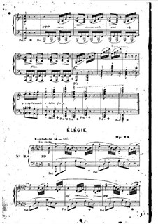 Elegie, Op.22: Elegie by Jean-Henri Ravina