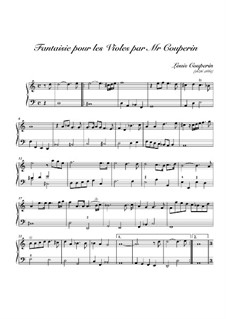 Fantasie Nr.1 in d-Moll: Fantasie Nr.1 in d-Moll by Louis Couperin