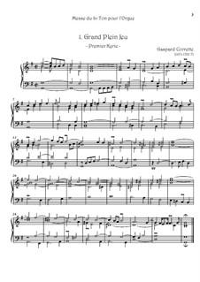 Messe: No.1 Grand plein Jeu by Gaspard Corrette