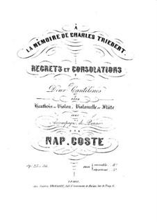 Trost für Oboe und Klavier, Op.25: Trost für Oboe und Klavier by Napoléon Coste