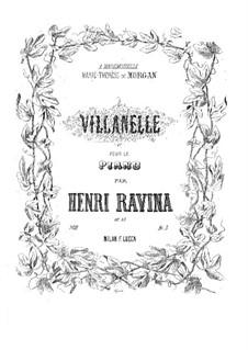 Villanelle, Op.33: Villanelle by Jean-Henri Ravina