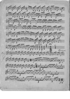 Zehn kleine Stücke, Op.11: Nr.9 Walzer by Matteo Carcassi