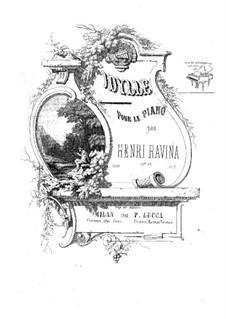 Idylle, Op.46: Idylle by Jean-Henri Ravina