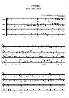 Missa Brevis: Kyrie by Giovanni da Palestrina