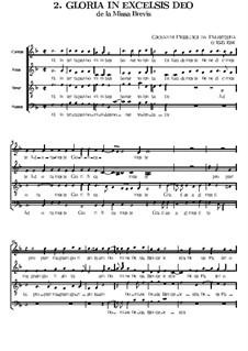 Missa Brevis: Gloria by Giovanni da Palestrina