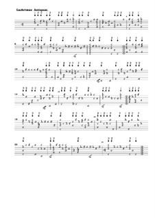 Lachrimae. Sieben Pavanen für Laute: Lachrimae. Sieben Pavanen für Laute by John Dowland