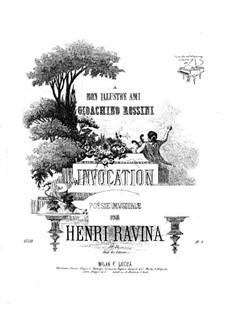 Invocation (Des-dur), Op.51: Invocation (Des-dur) by Jean-Henri Ravina
