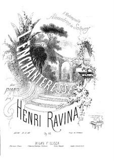 L'Enchanteresse (Zauberer), Op.61: L'Enchanteresse (Zauberer) by Jean-Henri Ravina