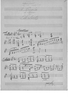 Fantasie über Themen aus 'Der Pirat' von V. Bellini: Fantasie über Themen aus 'Der Pirat' von V. Bellini by Tarquinio Merula