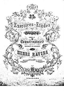 Fünfundzwanzig Übungen für Klavier, Op.28: Fünfundzwanzig Übungen für Klavier by Jean-Henri Ravina